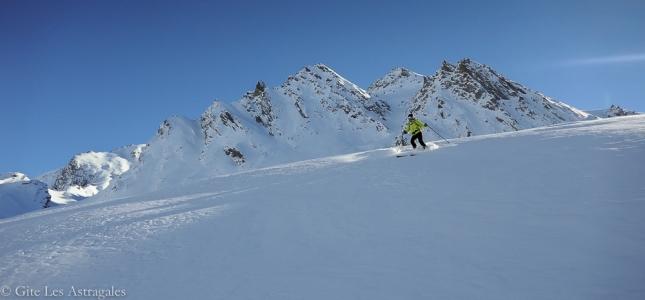 Ca ski dans le Queyras